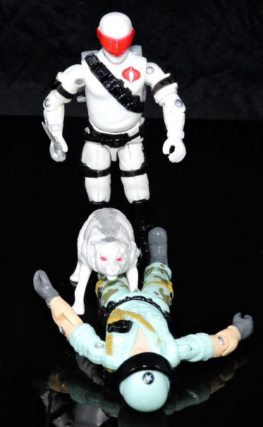 2019 Black Major Toys White Cobra Mortal - Surveillance Port (35)