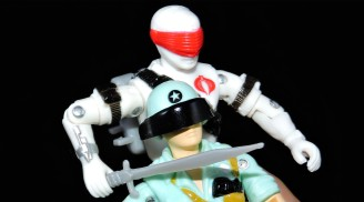 2019 Black Major Toys White Cobra Mortal - Surveillance Port (41)