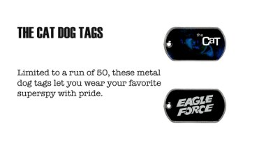 Eagle Force The Cat Dogtags - Surveillance Port