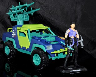 GI Joe Collectors Club Dreadnok Stinger 4x4 with Heartwrencher - Cobra Island (04)