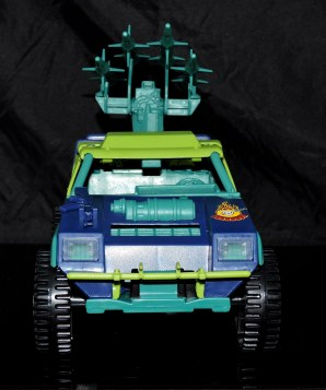 GI Joe Collectors Club Dreadnok Stinger 4x4 with Heartwrencher - Cobra Island (06)