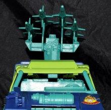 GI Joe Collectors Club Dreadnok Stinger 4x4 with Heartwrencher - Cobra Island (07)