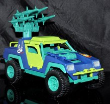 GI Joe Collectors Club Dreadnok Stinger 4x4 with Heartwrencher - Cobra Island (08)