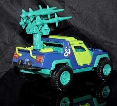 GI Joe Collectors Club Dreadnok Stinger 4x4 with Heartwrencher - Cobra Island (11)