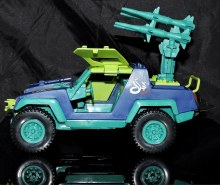 GI Joe Collectors Club Dreadnok Stinger 4x4 with Heartwrencher - Cobra Island (15)
