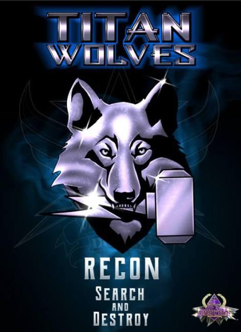 Hell Screamerz Titan Wolves - Surveillance Port