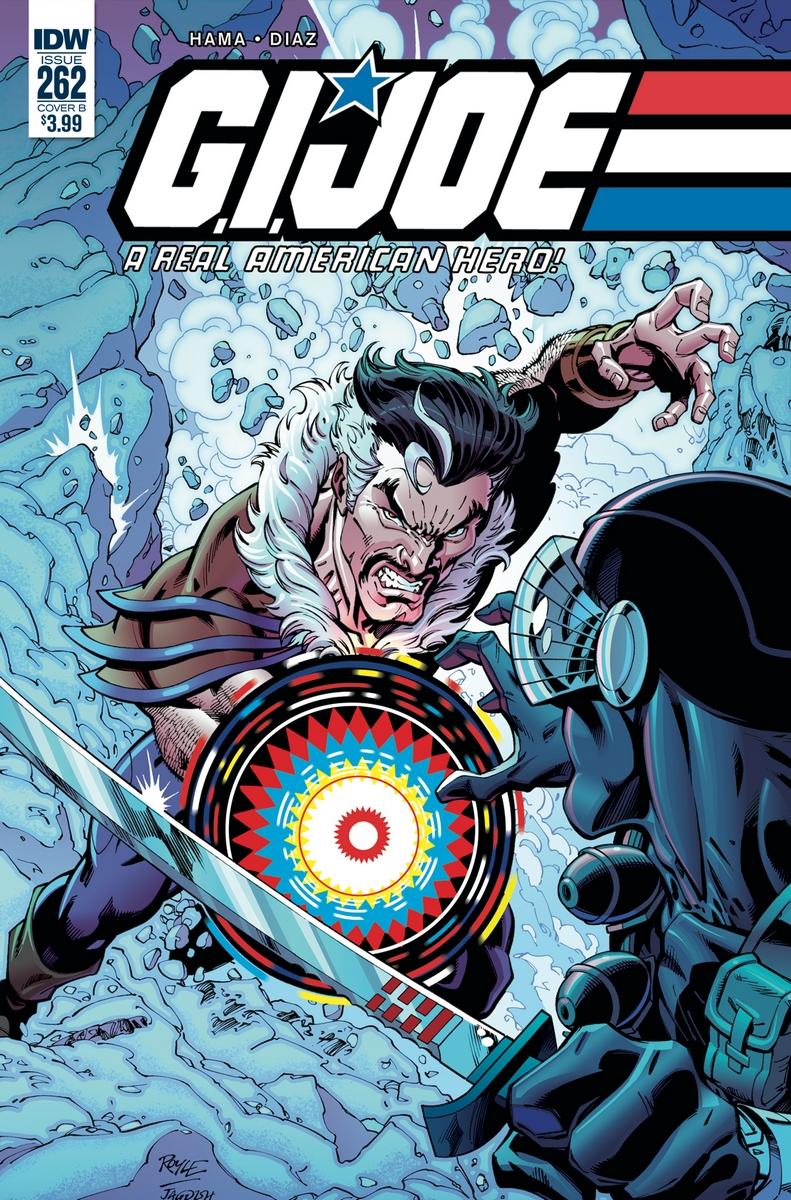 IDW Publishing G.I.Joe A Real American Hero 262 - Surveillance Port