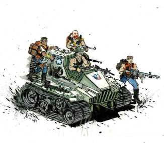 JoeFest Toy & Comic Show Kickliy - Surveillance Port (3)