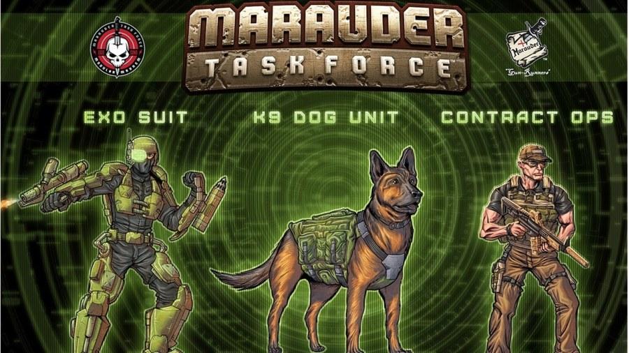 Marauder Task Force Banner - Surveillance Port