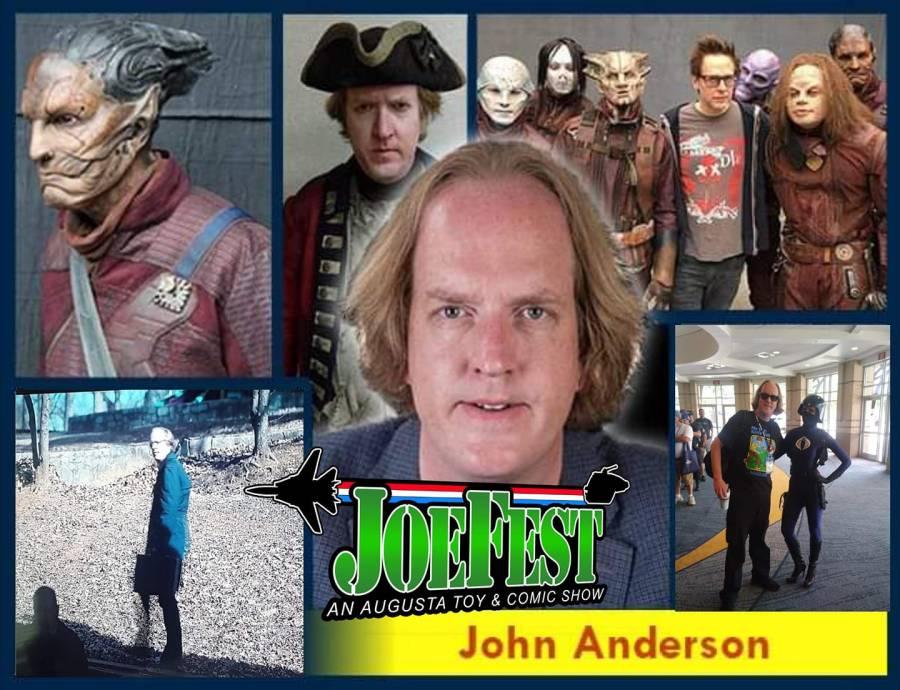 JoeFest John Anderson Banner - Surveillance Port