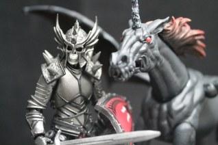 Boss Fight Studio Vitruvian H.A.C.K.S. Mighty Steeds Dark Pegasus Creature Kit Paint Master 02 - Surveillance Port
