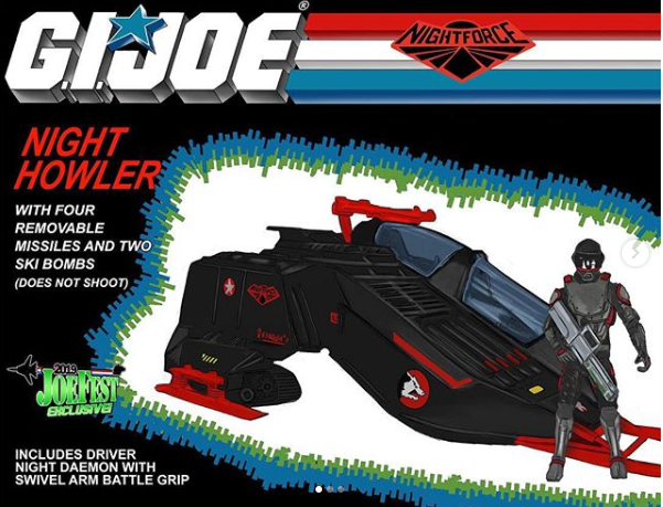 JoeFest Night Force Night Howler Box Art - Surveillance Port