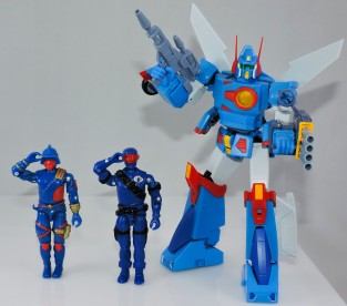black major toys 2019 blue invasor v2 - surveillance port 37