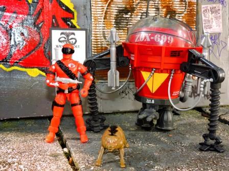 black major toys 2019 cobra crimson invasor v2 - surveillance port 41