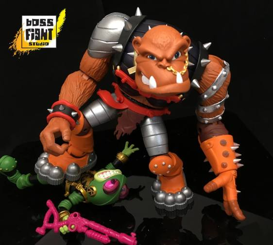 boss fight studio bucky o hare bruiser the betelgusian berserker baboon - surveillance port 04