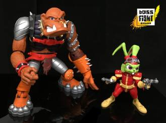 boss fight studio bucky o hare bruiser the betelgusian berserker baboon - surveillance port 05