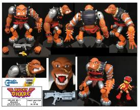 boss fight studio bucky o hare bruiser the betelgusian berserker baboon - surveillance port 06