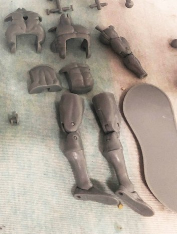 cryptid toys mold test parts male blank - surveillance port 01