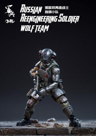 joy toy dark source 118 scake russian reengineering solider wolf team boris - surveillance port