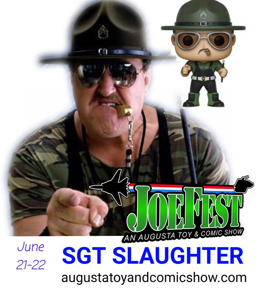 Sgt Slaughter JoeFest Announcement - Surveillance Port.jpg