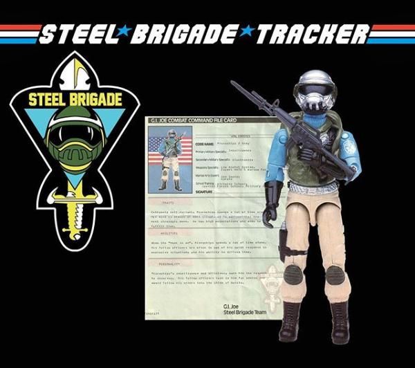 steelbrigadetracker.com logo - surveillance port