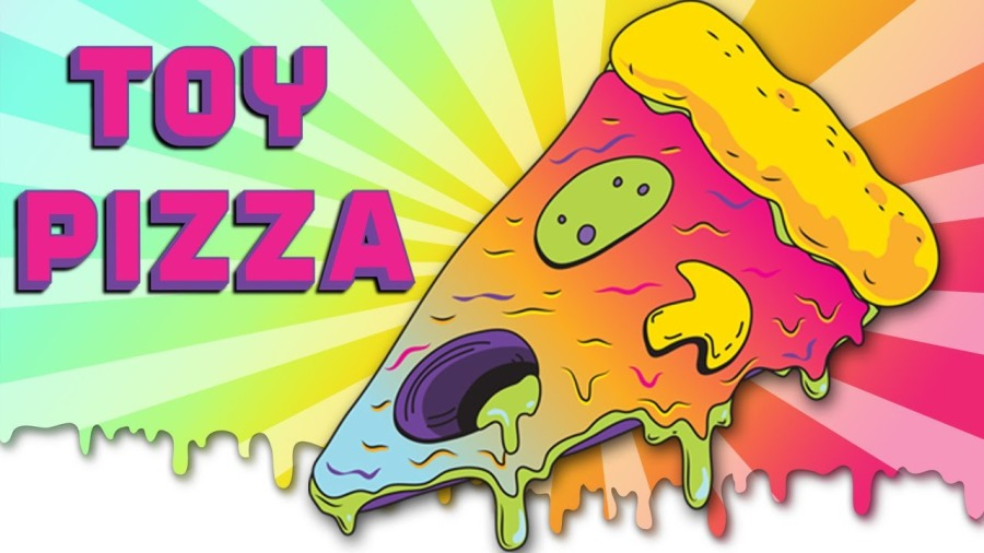 toy pizza logo banner - surveillance port