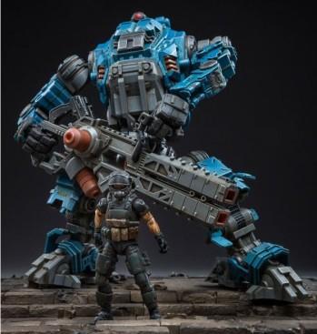 Dark Source Freeman Machine Armor Navy - Surveillance Port (2)