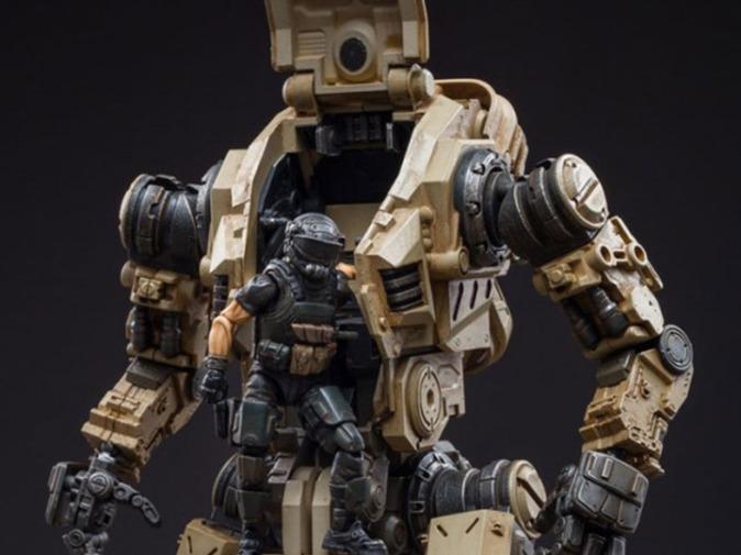 Dark Source Freeman Machine Armor Sand - Surveillance Port (1)