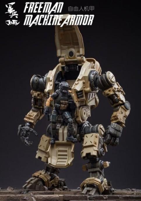 Dark Source Freeman Machine Armor Sand - Surveillance Port (4)