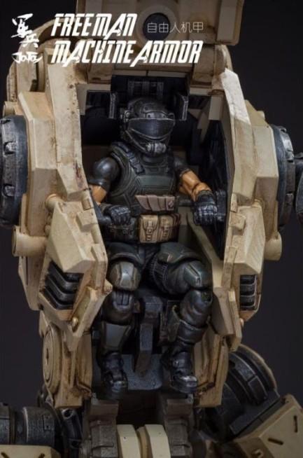 Dark Source Freeman Machine Armor Sand - Surveillance Port (5)