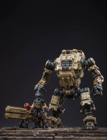 Joy Toy Dark Source 118 SCale Freeman Machine Armor - Surveillance Port 04