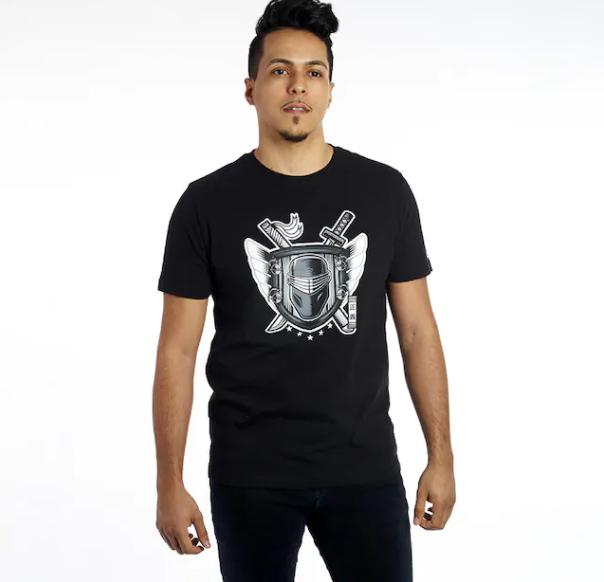 New Era GI Joe Snake Eyes T Shirt - Surveillance Port