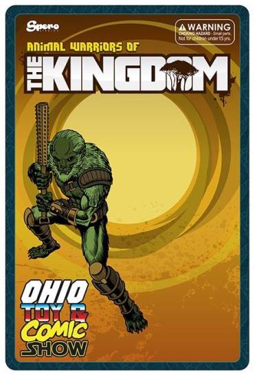 Ohio Toy and Comic Show Exclusive AWOK Tomans Bog Warrior - Surveillance Port (1)