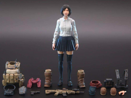Planet Green Valley EFSA Aviation School Girl Amy 118 Scale Figure - Surveillance Port 01