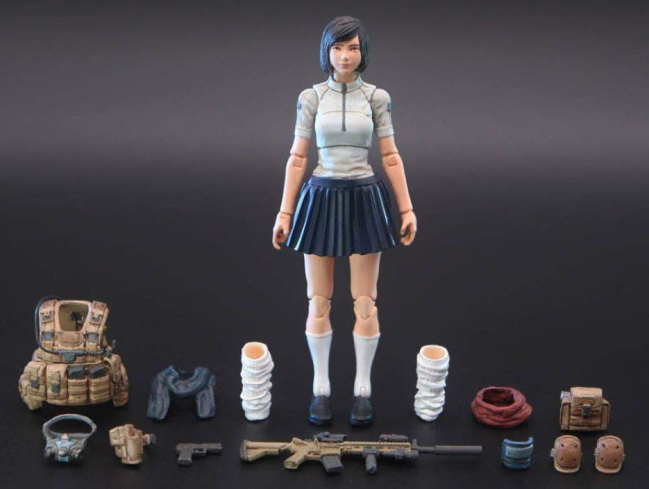 Planet Green Valley EFSA Aviation School Girl Lin 118 Scale Figure - Surveillance Port 01