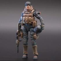 Planet Green Valley EFSA Security Forces Combat Uniform 118 Scale Figure - Surveillance Port 03
