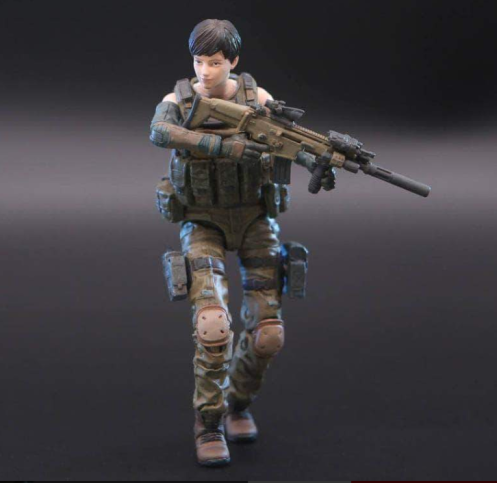 Planet Green Valley EFSA Security Forces Mind Controller 118 Scale Figure - Surveillance Port 02