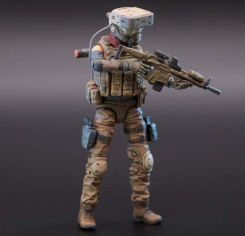Planet Green Valley EFSA Security Forces Mind Controller 118 Scale Figure - Surveillance Port 03