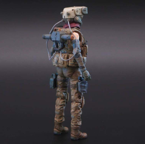 Planet Green Valley EFSA Security Forces Mind Controller 118 Scale Figure - Surveillance Port 04