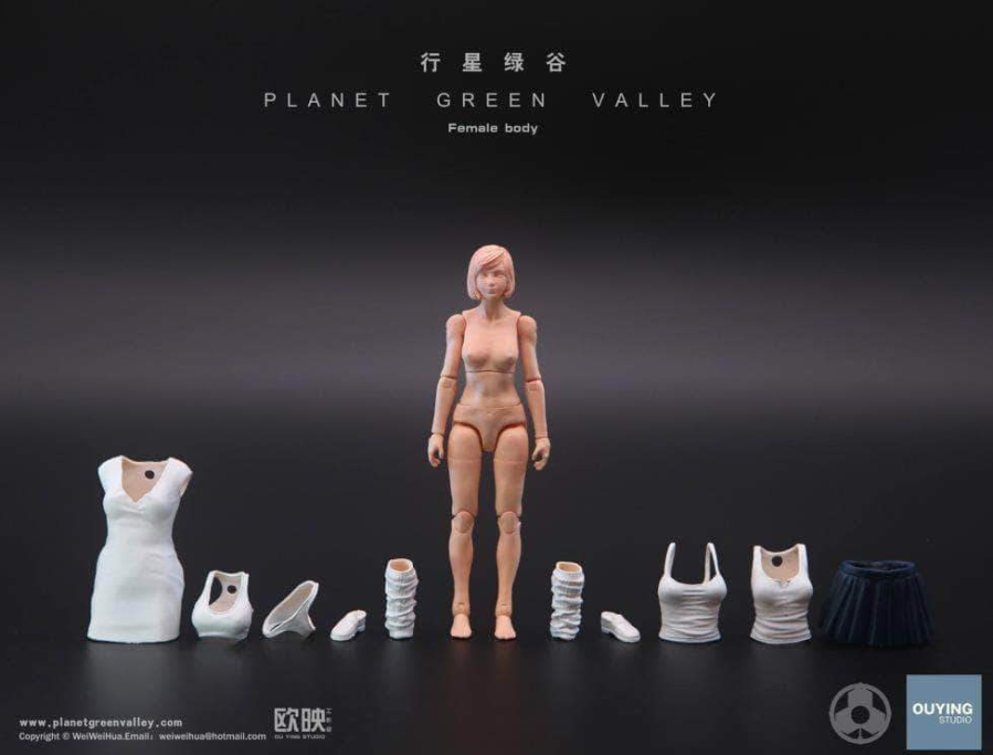 Planet Green Valley Female Body - Surveillance Port