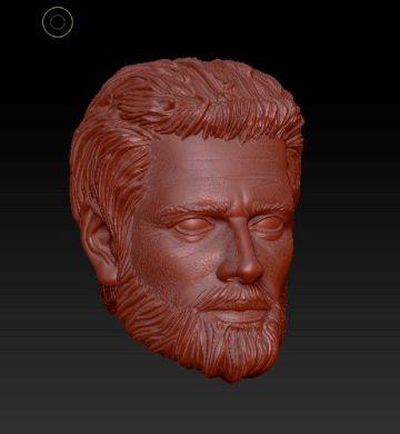 Planet Green Valley Male 3D Sculpt Updates - Surveillance Port 04