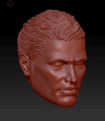 Planet Green Valley Male 3D Sculpt Updates - Surveillance Port 05