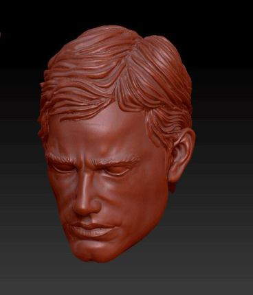 Planet Green Valley Male 3D Sculpt Updates - Surveillance Port 06