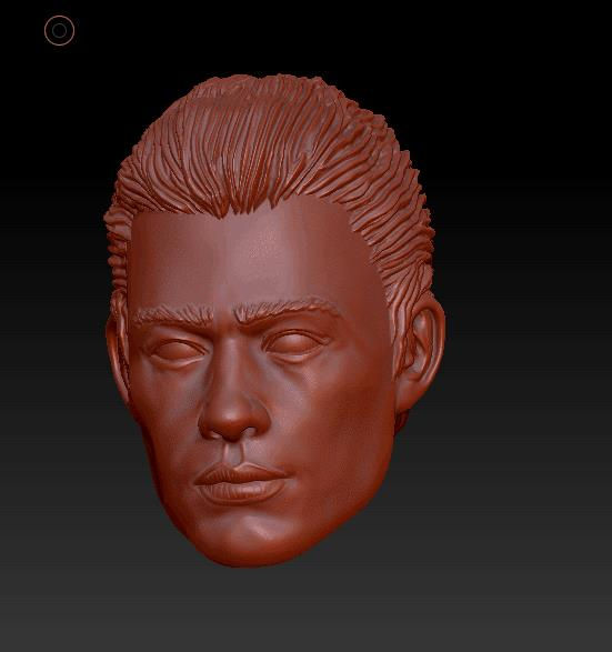Planet Green Valley Male 3D Sculpt Updates - Surveillance Port 07