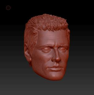 Planet Green Valley Male 3D Sculpt Updates - Surveillance Port 09