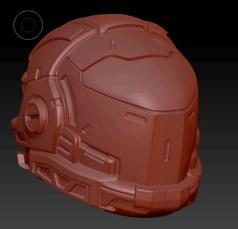 Planet Green Valley Male 3D Sculpt Updates - Surveillance Port 10