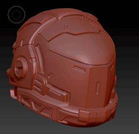 Planet Green Valley Male 3D Sculpt Updates - Surveillance Port 10