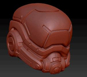 Planet Green Valley Male 3D Sculpt Updates - Surveillance Port 11