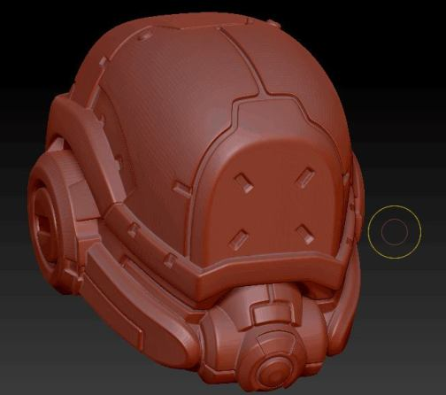 Planet Green Valley Male 3D Sculpt Updates - Surveillance Port 12