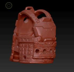 Planet Green Valley Male 3D Sculpt Updates - Surveillance Port 13